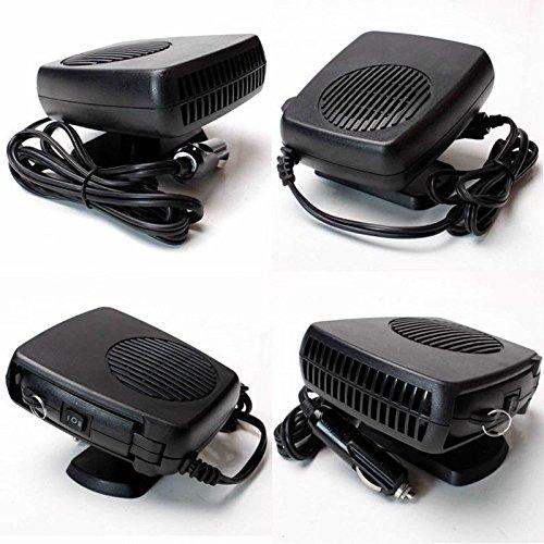 E-Bro 2 in 1 Car Portable Ceramic Heating Cooling Heater Fan Defroster Demister DC 12V