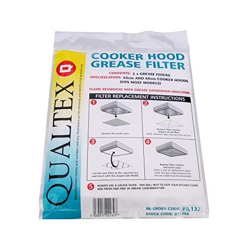 🥇 Qualtex–Filtro de Grasa para Campana extractora/Extractor