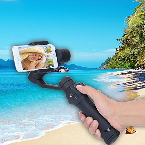 Dovewill Handle Grip Smooth 3-Axis Handheld Gimbal Stabilizer for Android Phone US by Dovewill (Image #9)