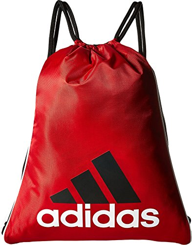 adidas Burst Sackpack, Power Red, 18 x 14.25-Inch