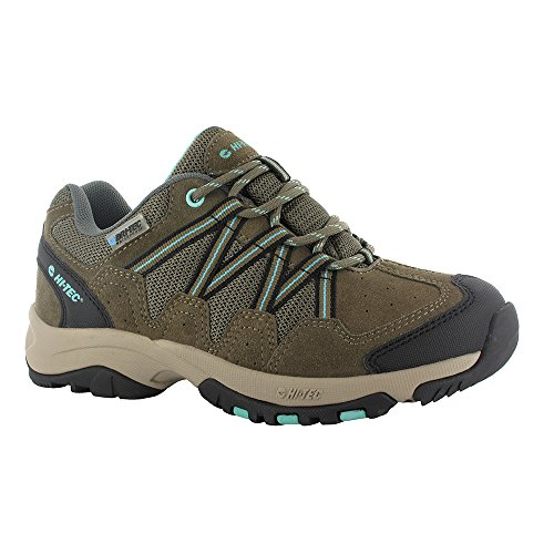 Hi Tec Walking Shoes - Hi-Tec Women's Florence Low Waterproof Multisport Shoe,  Taupe/Mint,  7 M US