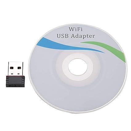 Zerone Alta Velocidad Tarjeta de Red USB Adaptador WiFi ...