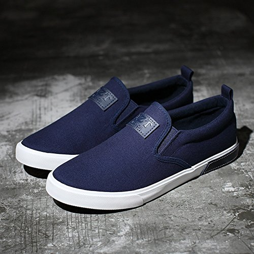 Espadrilles Canvas Casual 40 Espadrilles Mens Size Blue Academy Shoes Sneakers Exercise Outdoor HUAN Shoes Color HqIdHw