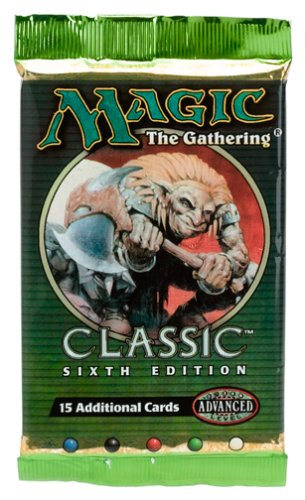 Magic the Gaithering Sixth Edition Booster by Wizards of the Coast