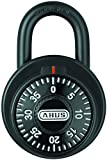 ABUS 78/50 KC 2-Inch Locker Dial Combination Padlock with Key Control, Black