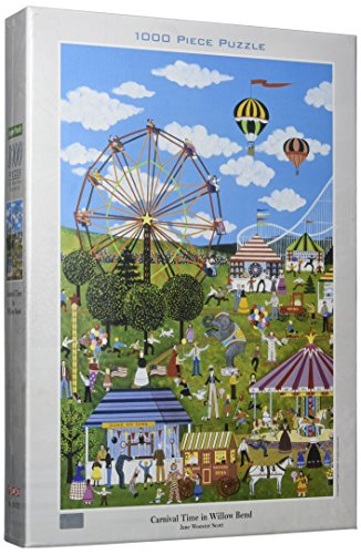 Tomax Carnival Time in Willow Bend 1000 Piece Jane Wooster Scott Jigsaw Puzzle