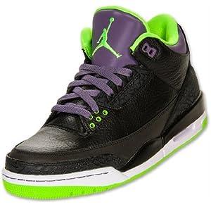 best website 459b2 44727 NIKE Mens Air Jordan 3 Retro Joker Leather Basketball Shoes