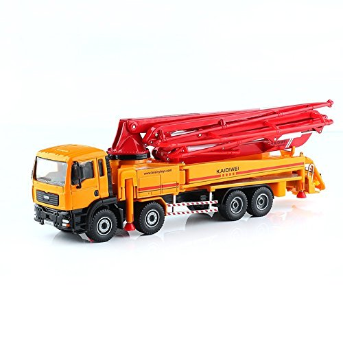1: 55 Legierung Rutsche Spielzeug Modelle Baufahrzeuge, Betonpumpe LKW Modell, Lernspielzeug