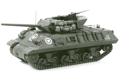 Tamiya Models M10 Tank Destroyer