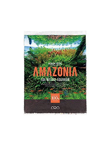 ADA Aqua Soil Amazonia (3 Liter/Approx 7 Lbs) Normal Type by Aqua Design Amano