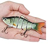 SeaISee Fishing Lure Fishing Wobblers Lifelike Fishing Lure 6 Isca Artificial Lures Fishing Tackle