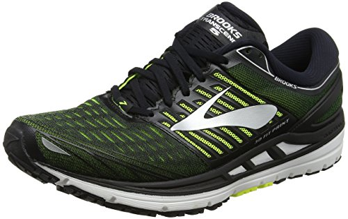Brooks Transcend 5, Chaussures de Running Homme Noir (Blacknightlifesilver 1d069)