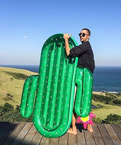 SKY TEARS Hinchable Flotador Cactus Piscina para Adultos Hinchables Juguete