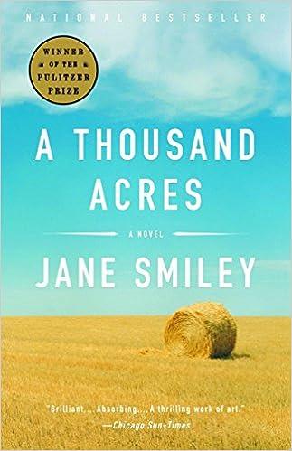 A Thousand Acres Novel Jane Smiley 9781400033836 Amazon Books
