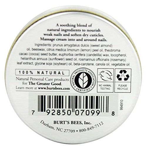Burt's Bees Lemon Butter Cuticle Cream, 0.6 Ounces each (Value Pack of 24) by Burt's Bees