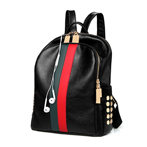 6fc738f0aac Details about Ladies Luxury Leather Bag Backpack Gucci Pattern Tote Handbag  Gift For Women New