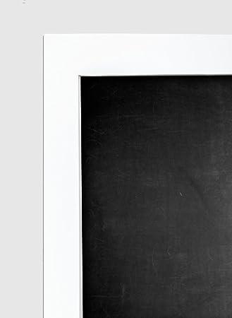 framed chalkboard 26x20 inch with white frame - White Framed Chalkboard