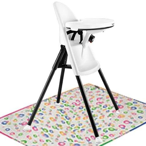 05cda36f5c3 Baby Bjorn High Chair with Splat Mat- White - Buy Online in UAE ...