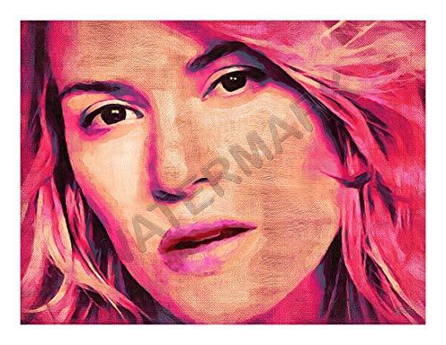 JR Bouvier Kate Winslet Actress Large Art Print Poster 32x24 inch