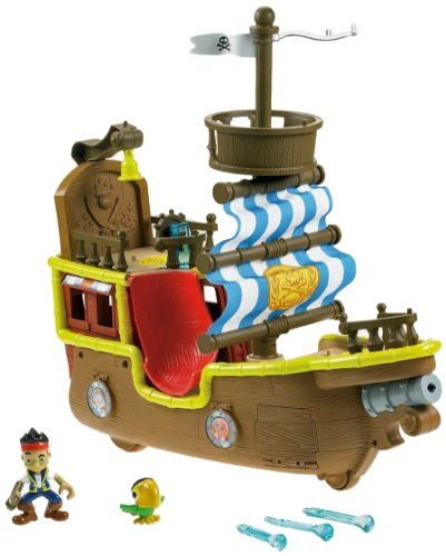 Fisher-Price Disney's Jake and The Never Land Pirates - Jake's Musical Pirate Ship Bucky [Amazon Exclusive] -