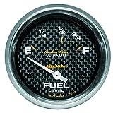 autometer ultralite air fuel - Auto Meter 4815 Carbon Fiber Electric Fuel Level Gauge