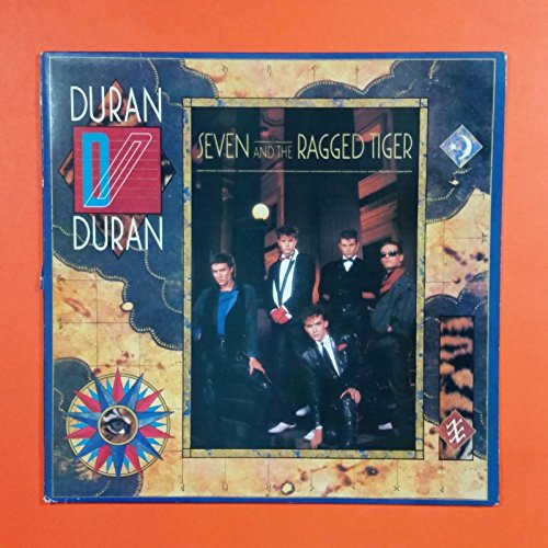 DURAN DURAN Seven And The Ragged Tiger ST 12310 MbC Wally LP Vinyl VG+ Sleeve