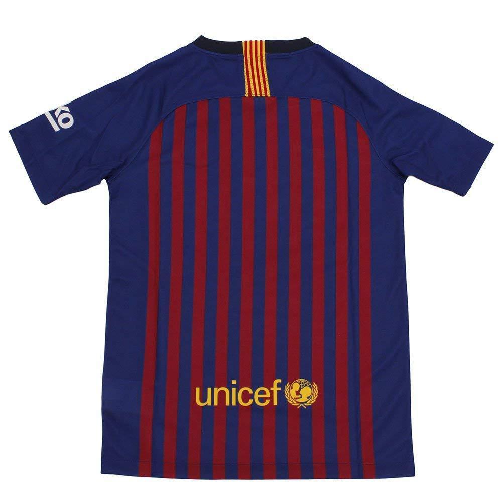 a248cd82302 Amazon.com  NIKE 2018 19 FC Barcelona Stadium Home Big Kids  Soccer Jersey   Sports   Outdoors