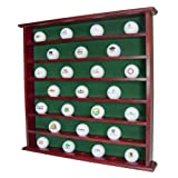 Golf Gifts & Gallery 1937 Mahogany 49 Ball Cabinet