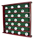Golf Gifts & Gallery Mahogany 49-Ball Cabinet