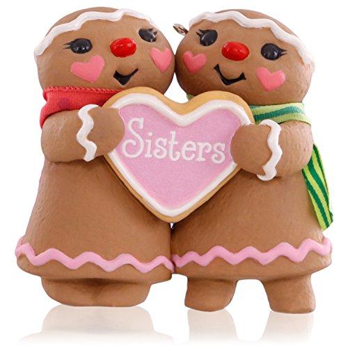 Gingerbread Girl Ornament (Hallmark Keepsake Ornament: Sweet Sisters Gingerbread Girls)