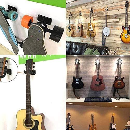 Samseed 2 Ganchos para Montaje en Pared para Guitarra, Soporte de ...