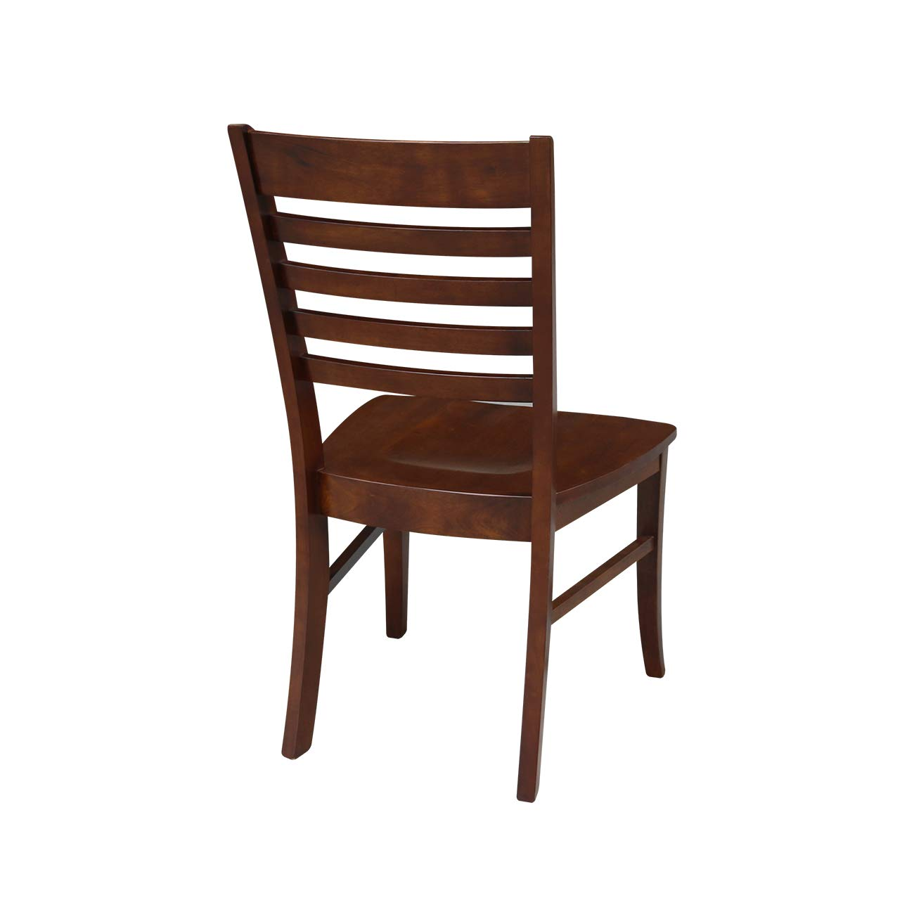 International Concepts Roma Ladder Back Chair, Unfinished