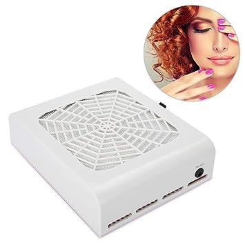 Aspirador Uñas 48W Aspirador para Polvo de Uñas Collector UV Gel ...