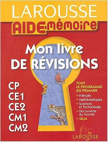 Mon Livre De Revisions French Edition 9782035331434