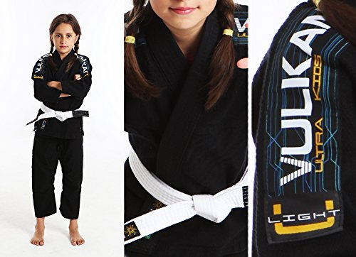 Ultra Light Vulkan Jiu-Jitsu Gi Adult & Kids Sizes + Free Submission and Position Videos + 30 Day Comfort Guarantee + IBJJF Approved