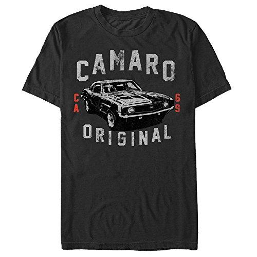 General Motors 1969 Camaro Original Mens Graphic T (Camaro Graphic Tee)