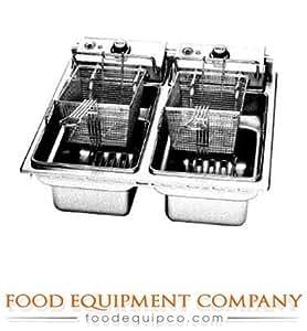 Amazon Com Wells F 676 Fryer Drop In Electric Dual Pot 15