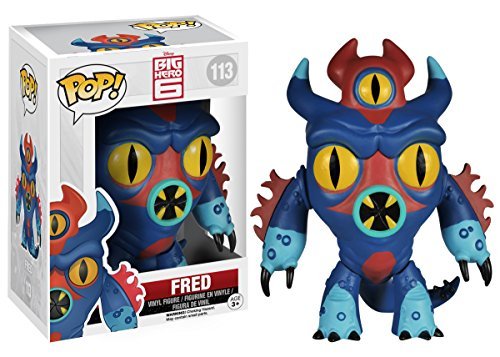 Funko POP! Disney: Big Hero 6-Fred Action Figure