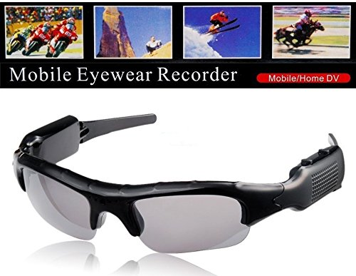 Flylinktech SunGlasses mini Spy glasses DV DVR Hidden Camera glasses Video...
