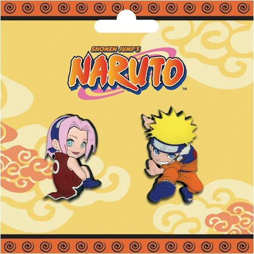 Naruto & Sakura Pins Miniature Novelty Toys