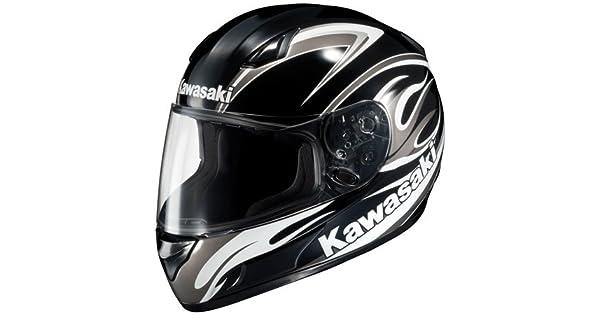 Amazon.com: Hjc AC-12 Kawasaki Ninja Zx Full Face Helmet, M ...