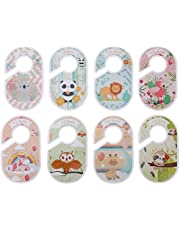 Hemobllo 8pcs Baby Closet Size Dividers Woodland Nursery Closet Dividers Size Age Hanger Organizers for Baby Clothes for Boy Girl Newborn Toddler Wardrobe Decor