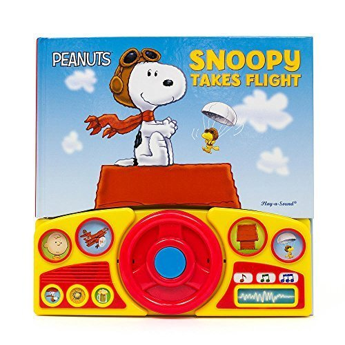 Peanuts - Snoopy takes flight - Interactive Book with Steering (Peanuts Toys)