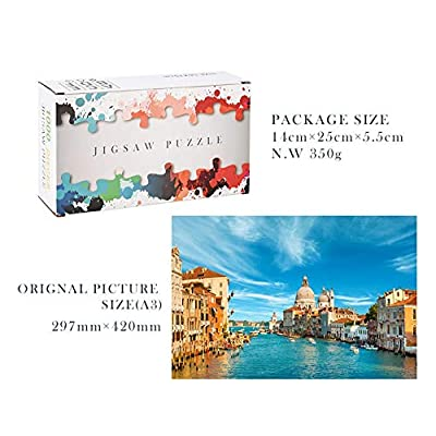 Jigsaw Puzzles 1000 Pieces for Adults, Landscape Bay Castle Jigsaw Large Puzzle Game Toys Gift DIY Collectibles Modern Home Decoration: Toys & Games