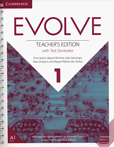 Evolve Level 1 Teacher's Edition with Test Generator (Test Generator)
