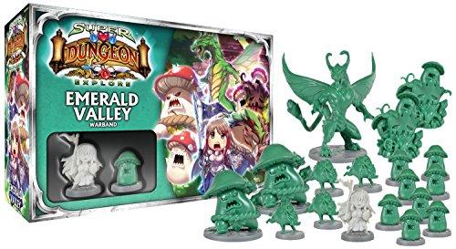 Ninja Division Emerald Valley Warband Board Game