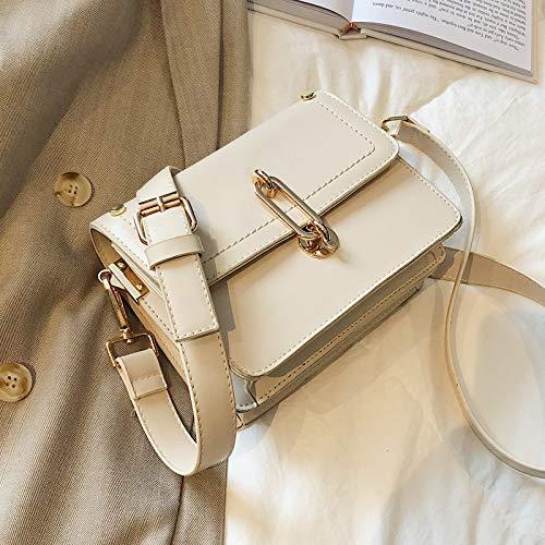 Borsa Bag Moda Marrone Quadrata Semplice Messenger Selvaggia Xmy Tracolla Piccola Rosa Femminile SqBd0wxFX
