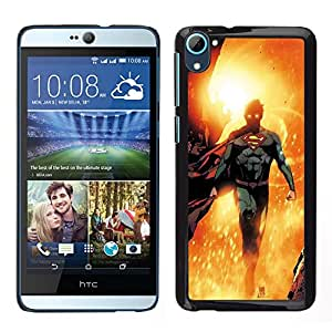 For HTC Desire D826 , S-type® Hero Sun Flying Children'S Character - Arte & diseño plástico duro Fundas Cover Cubre Hard Case Cover
