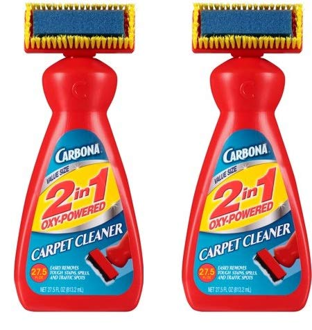 Carbona 2 in 1 Oxy-Powered Carpet & Upholstery Cleaner, 27.5