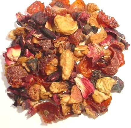 1 Lb Foil Bag (Cranberry Apple Herb & Fruit Tea ~ 1 lb Gusseted Foil Bag)